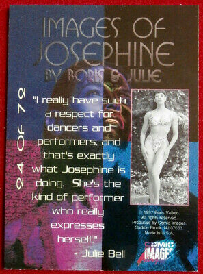IMAGES OF JOSEPHINE - Individual Card #24 - Comic Images - Fantasy Art - 1997 2