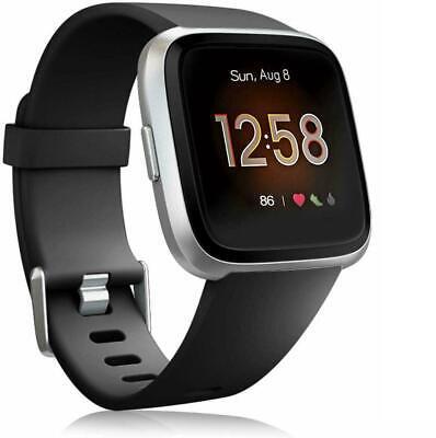 For Fitbit Versa 2/Versa Lite/Versa Replacement Silicone Sport Watch Band Strap 9