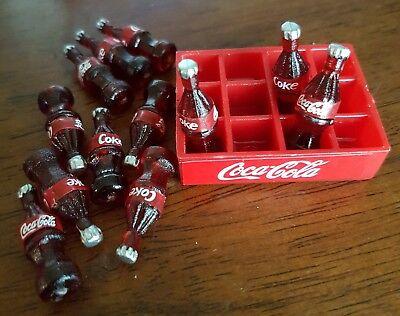 Coles Little Shop Mini Collectables - Coke bottles & crate 5