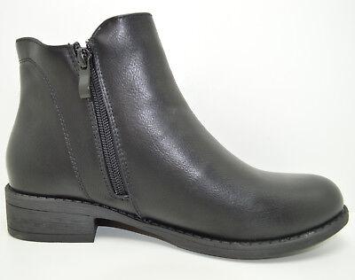 ... 2 disponibili Tronchetto con elastico scarpe da donna con zip stivaletti  corti beatles 3 6c581c81acd