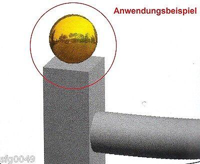 Messingkugel hohl /ø 50mm spezialbeschichtet f/ür Innen mit M8 Gewinde und Au/ßenbereich