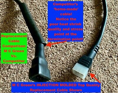 WESTERN FISHER SNOW PLOW 6 PIN CONTROLLER CABLE ASSY w// PLUG JOYSTICK UNIMOUNT
