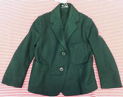 Vintage 1950s blazer green UNUSED girls school uniform Swan Lake Arthur Howard 8