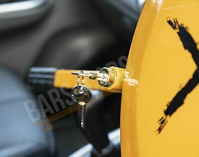 Full Face Steering Wheel Lock Clamp Security for Volvo XC90 All Models 2