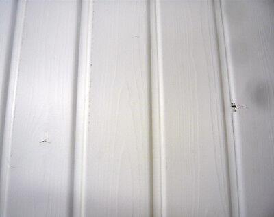 Rundkante Fichte Profilholz Profilbretter weiß deckend behandelt energiesparend