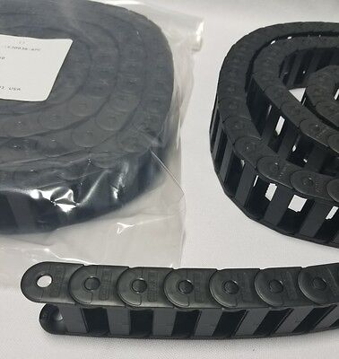 Lot of 2 IGUS Energy Chain Cable Carrier E2C1530038-MC -E SERIES Snap Open