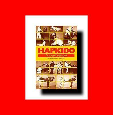 ☆Hybrid Martial Arts Book: Hapkido Korean Integrated Fighting Art-Combat Techn% 2