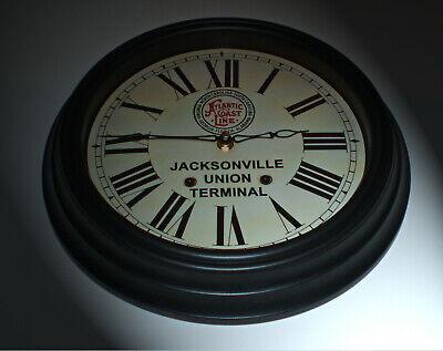Atlantic Coast Line Florida Jacksonville Union Terminal Waiting Room Clock 1920s 2
