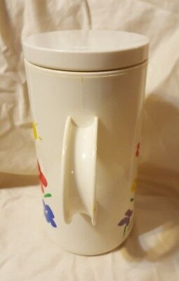 Vintage Coffee/Tea Carafe 1985 Teleflora Gifts 4