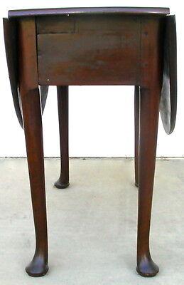 2 Of 7 Antique George II VIRGINIAN WALNUT Drop Leaf TABLE   HTF