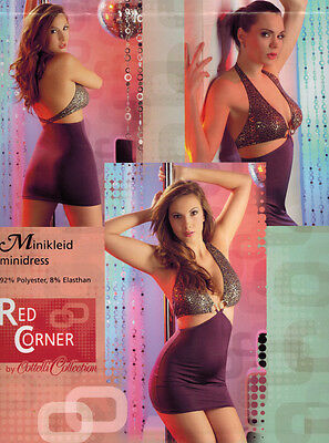 Minikleid. »Red Corner« Lila. NEU!!! SALE%%%