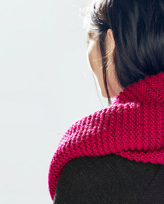 4070ace5 2 of 3 NEW AUTHENTIC ZARA Double Layer Knit Snood Infinity Scarf PINK RED  4219/222
