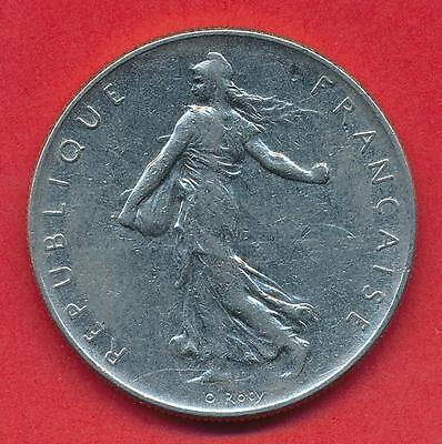 Französische Münze Vth Republic 1 Franc Semeuse 1960 Eur 1500