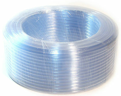1 Meter Water Tubing Food Grade Home Brew & Wine Making Hose Kichen PVC Clear 4
