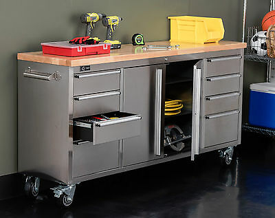 Incredible Trinity Tls 7204 72 Stainless Steel Rolling Workbench Gmtry Best Dining Table And Chair Ideas Images Gmtryco