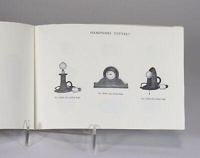 Hampshire Pottery catalog 28 page shape book 1971 reprint Arts & Crafts Keene NH 6
