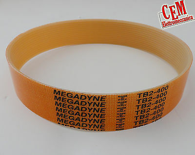 Cinghia di ricambio MEGADYNE TB2 per affettatrice compressore affettatrici belt 2