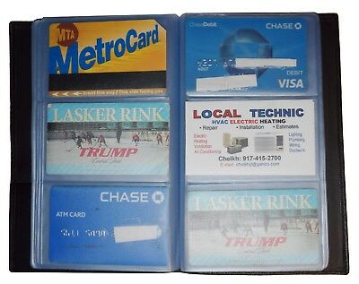 Lot of 5 new 60 to 120 business card case credit card IDs mini photos holder NWT 9