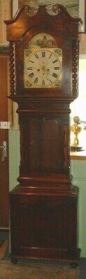 Victorian Newcastle On Tyne Grandfather / Longcase  Clock ( J. Rosenberg ) 7