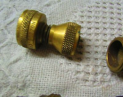Vintage Lot Of Brass Hose Parts 2