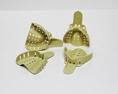 Dental Plastic Disposable Impression Trays Perforated Autoclavable UM #3 12 Pcs 4