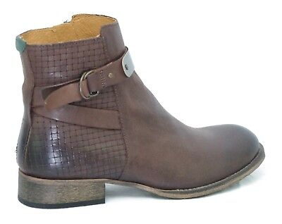 KICKERS PUNKING BOTTINES Boots Marron cuir femme 577300 50 9 Taille 36