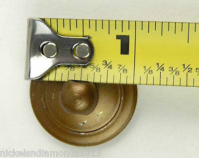 Antique Maddon Table Company Drawer Pulls / Knobs W/ Hardware Sack & Tag 4