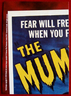 HAMMER HORROR - Series Two - Card #21 - The Mummy - Strictly Ink 2010 2