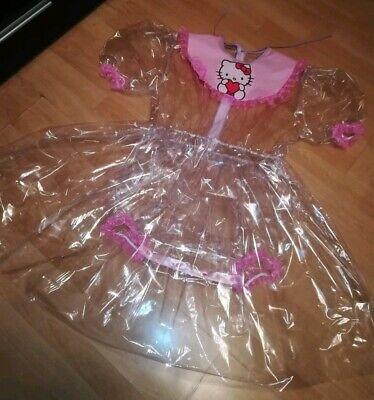 Adult Baby Kleid Rosa INTEGRIERTE Windelhose Sissy PVC LACK Diaper Plastik L-XL 5