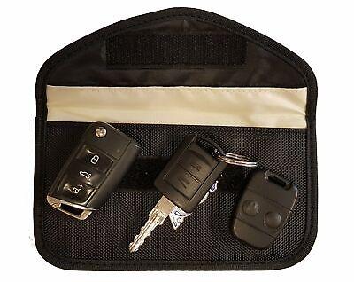 Genuine Car Key Keyless Entry Fob Signal Blocker Faraday Bag - Larger Version 2