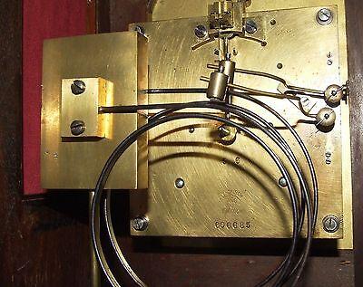 # Antique LENZKIRCH Walnut TING TANG Bracket Mantel Clock : SERVICED & WORKING 12