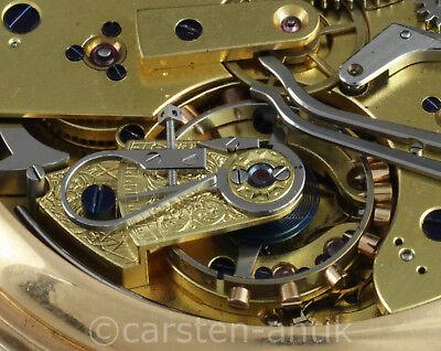 Nicole Nielsen & Co London split second chronograph minute repeater 1884 Chrono 9