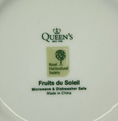 Queens Fine Bone China Fruits Du Soleil Royal Horticultural Society Pitcher