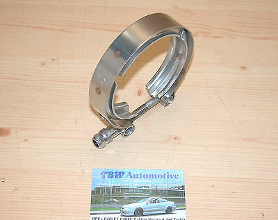 "V-Band Schelle 76 mm 3 Zoll ***NEU** Auspuff 3"" V Band Turbo Abgasanlage 3"