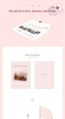 ONF [WE MUST LOVE] 3rd Mini Album CD+Photo Book+Card+Post Card+2p Photo SEALED 3