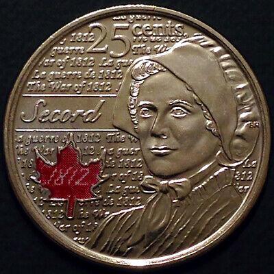 Canada 2012 / 2013 War of 1812 8 Commemorative 25 Cent Quarter Coin Set, UNC 6