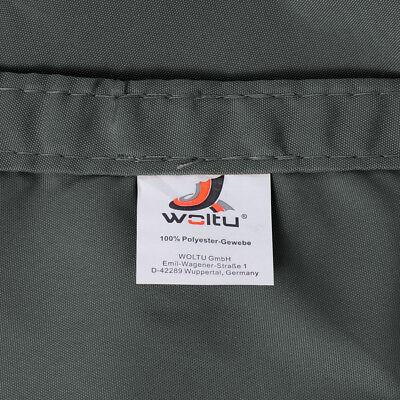 Sonnensegel UV Sonnenschutz Wasserabweisend Sonnendach Polyester Grau #609-gr 6