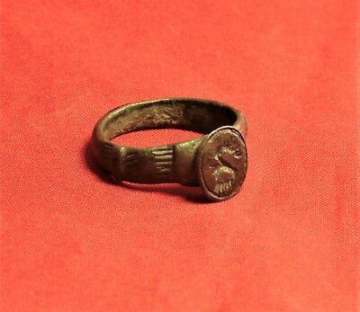 Fine Ancient Celtic Finger Ring 5