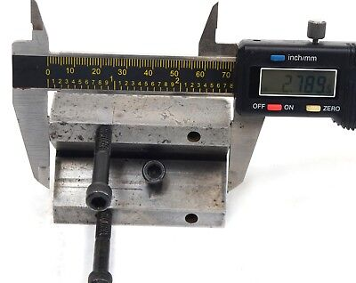 """1 9/32"""" x 2"""" x 2.789"""" Precision Machinist Milling V Block with Security Bolts 9"""