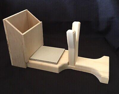 Hot Glue Gun Holder Regular & Mini Original Wood Stand Organizer Floral Crafts 4