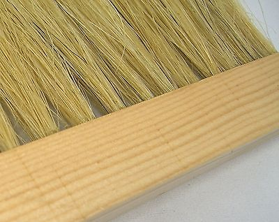 2 x Beekeepers Bee brushes - Natural soft pig bristle 3
