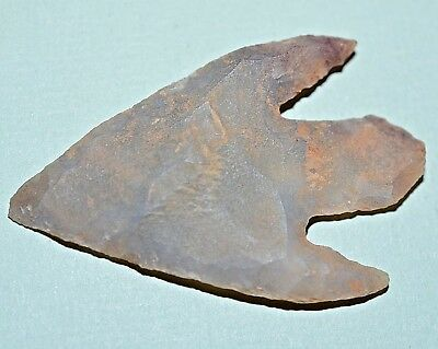 African Neolithic Stone Projectile Knapped Arrowhead Point Sahara Desert, Africa
