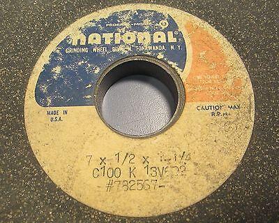 National  7X1//2X1-1//4 SA100H10V6W Grinding Wheel
