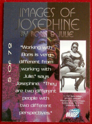 IMAGES OF JOSEPHINE - Individual Card #05 Comic Images - Fantasy Art 2