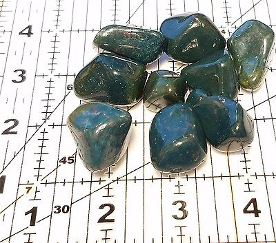 1/4 lb Bulk Tumbled Bloodstone Heliotrope mineral Stones South African 7-12pcs 2