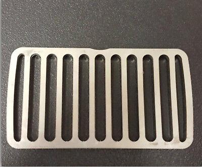 GRIGLIA acciaio braciere per stufa pellet braciere montegrappa 5000 e 5000 plus 2