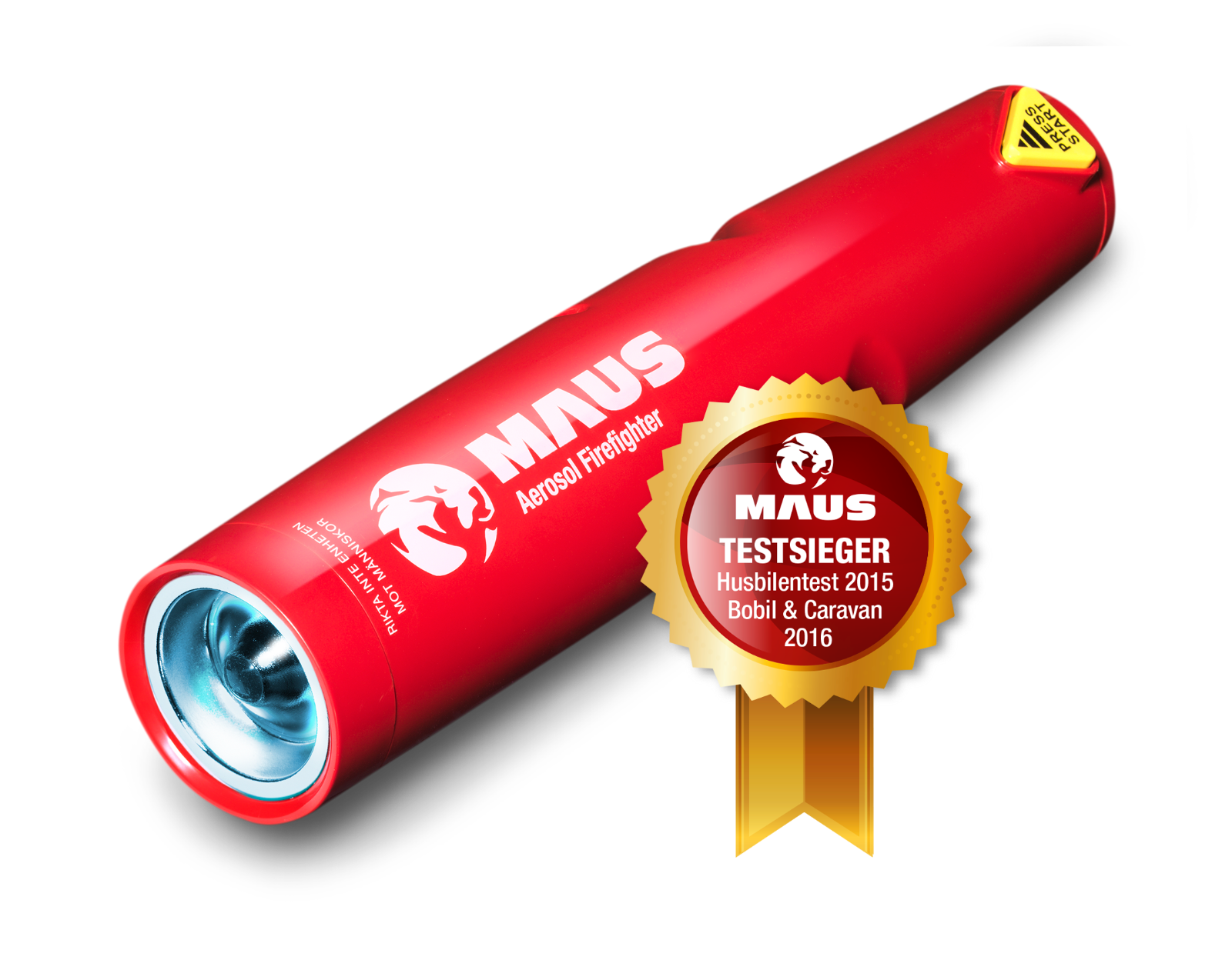 Holy Smoke MAUS Xtin Aerosol der handlichste Feuerlöscher der Welt