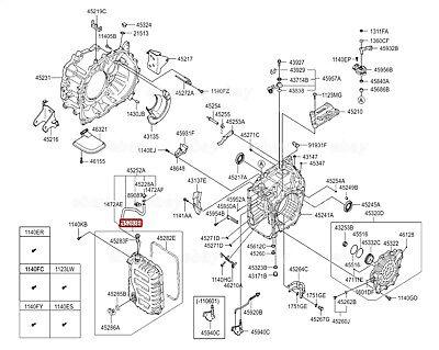 KIA OEM 11-18 Optima Automatic Transaxle-Pan Gasket 452833B010