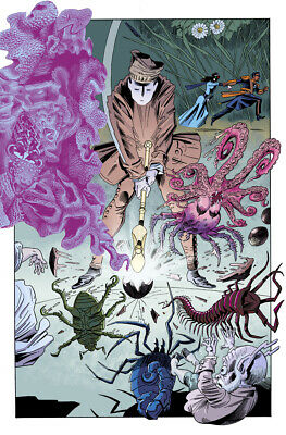 League of Extraordinary Gentlemen THE TEMPEST #5 by Alan Moore & Kevin O'Neill 5