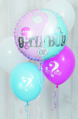 Gender Reveal party / baby shower coordinated range, tableware and decorations 4